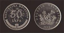 CROAZIA 50 LIPA 1998 DEGENIA VELEBITICA - FDC/UNC FIOR DI CONIO