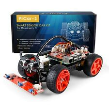 Raspberry Pi Smart Car (PiCar S) for Raspberry Pi 4/3/2/B+