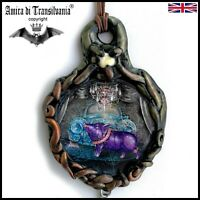 talisman necklace amulet pendant charms jewel good luck lucky attraction money 1