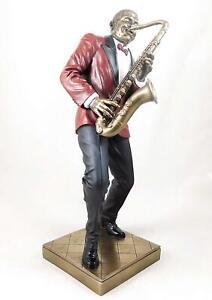 Jazz Musician Figurine - Saxophone Player