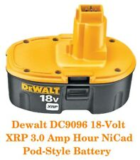 DEWALT DC9096 18 Volt XRP Battery Pack UPGRADED TO 3.0 AMP HRS 75% MORE RUN TIME