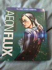 Aeon Flux Charlize Theron Blu-Ray + Dvd + Digital Code New Sealed