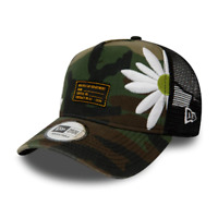 New Era Cap Trucker Cap Kappe New Era Military Flowers Camoflage