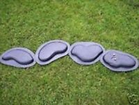 4 piece snake plastic mold plaster concrete mould