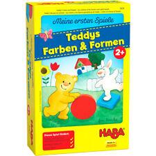 HABA Meine ersten Spiele Teddys Farben und Formen Gesellschaftsspiel ab 2 Jahre