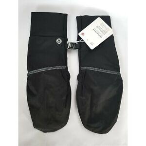 Lululemon Women's Run Fast Gloves Mittens Black Size XS/S