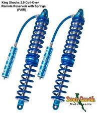 "King Shocks PR2014-COHRS Coil-Over 2.0 in 14"" Travel w/ Reservoir & Springs PAIR"