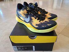 VVNDS Nike Zoom Kobe 8 VIII Sulfur Electric Black Yellow Silver Sz 10 Tried On