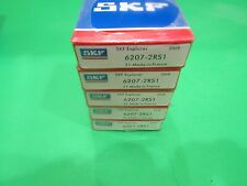 Qt.5 SKF) 6207-2RS SKF Brand Rubber Seals Bearing