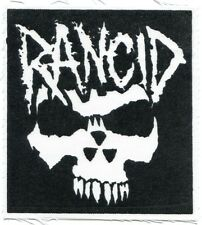 Rancid crimson ghost Cloth Patch -sew on *Free Shipping* -punk let's go wolves