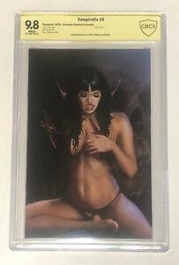 Vampirella #9 Carla Cohen SIGNED Scorpion Comics Virgin CBCS 9.8