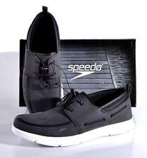 NEW Speedo Men's Port Water Shoe Black White Slip-On PICK SIZE
