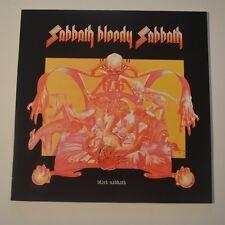 BLACK SABBATH - SABBATH BLOODY SABBATH - REISSUE LP COLOR VINYL