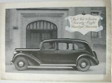AUSTIN Twenty-Eight Ranelagh Limo Original Car Sales Sheet 1930s Pub. No. 1676
