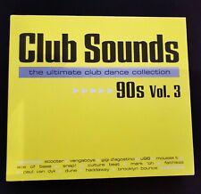 Club Sounds 90s, Vol. 3 (Audio-CD) 3 CD