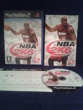 PS2 NBA 2K6 PLAY STATION 2 PAL