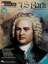J.S. Bach Jazz Play Along Book and Cd New 000843169