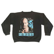 Vintage STONE COLD AUSTIN 1999 Wrestling WWF Sweatshirt Boys or Womens? /7580