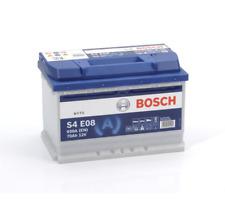 S4E08 S4 E08 Bosch Car Battery Stop Start 12V 70Ah 760A Type 096 4 YEAR WARRANTY