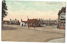 SANDY Bedfordshire, Market Place, Old Postcard by Valentine Postally Used 1910