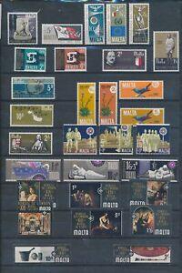 XC89950 Malta mixed thematics nice lot of good stamps MNH