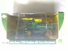 Athearn item no.77634 John Deere 7700 Combine With Corn Attachment  1/50 scale.