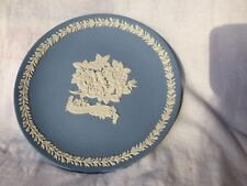 "Wedgwood JASPER WARE Blue Plate ""Mother 1989"""
