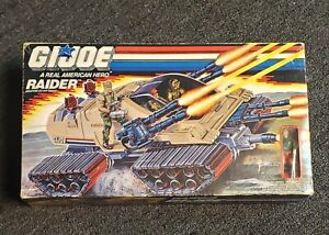 1989 GI Joe RAIDER ARAH Vehicle w/Figure Hot Seat FACTORY SEALED NEW RARE