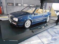 VW Volkswagen Golf MKIII 3 Cabrio Cabriolet blau blue 1995 1/1000 Norev 1:18