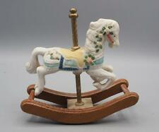 Porcelain Carousel Horse Rocking Base