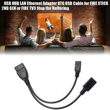 Micro USB Host OTG Cable With Female To Micro Male USB Plug Power Phone Adapter