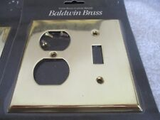 Baldwin Brass Outlet/Single Toggle Switch Plates ( 8 Plates)