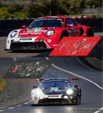 Decals Porsche 992 RSR Le Mans 2020 1:32 1:43 1:24 1:18  911 slot calcas