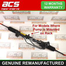 VAUXHALL VECTRA C POWER STEERING RACK 1.8 2002 TO 2009 (Pump mounted on rack)