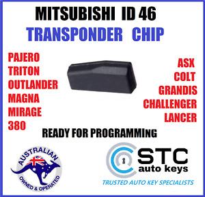46 MITSUBISHI REMOTE KEY TRANSPONDER CHIP PAJERO TRITON OUTLANDER LANCER MIRAGE