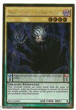 Vector Pendulum, the Dracoverlord PGL3-EN041 Gold Rare Yu-gi-oh Card 1st New