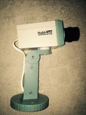 4X Motorised CCTV Dummy Camera Motion Sensor Drive Pan Operation & Flashing Led