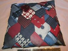 Pillow  Recycled Ties  7043