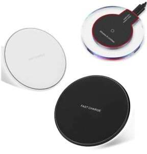 Qi Wireless Fast Charger Dock Charging Pad For iPhone 8 8Plus X XS XR XS Max