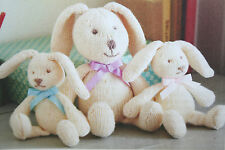 Rabbit Toy Knitting Pattern