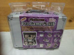 Intec Platinum Pro Gamer'z (Gamers Gamerz) Game Boy Advance (GBA) SP Kit NEW