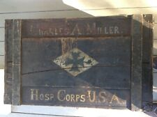 World War 1 Hospital Corps Field Trunk 1914-1918 All Original Condition