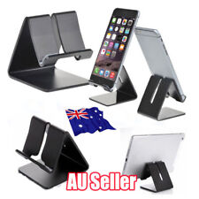 AU Aluminum Desk Stand Holder Desktop For Mobile Phone iPad iPhone 6 7 Plus EA