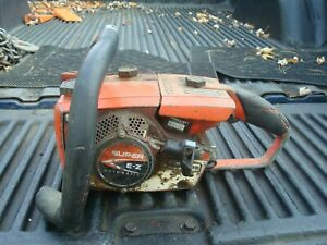 Vintage Homelite Super EZ Automatic Chain Saw Power Head-For Parts Or Repair