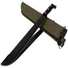 Bolo Machete mit Sägerücken Buschmesser Taschenmesser