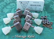 aged Kluson nickel tuners RELIC'D fit Gibson Historic Les Paul SD90SLN No Line