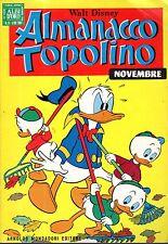 ALBI D'ORO: Almanacco Topolino N°11 del 1968 con cartolina abbonamento