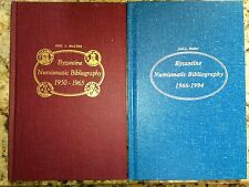 Byzantine Numismatic Bibliography 1950-1965, and 1966-1994, 2 hardbound volumes!