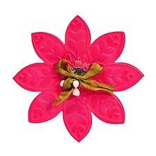 Sizzix Bigz Flower #2 die with Free Bonus Emboss folder! #657362 Retail $19.99