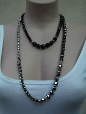 MIMCO MOONBEAM FACET STRAND / necklace,PEARL HEMATINE, BNWT, RRP